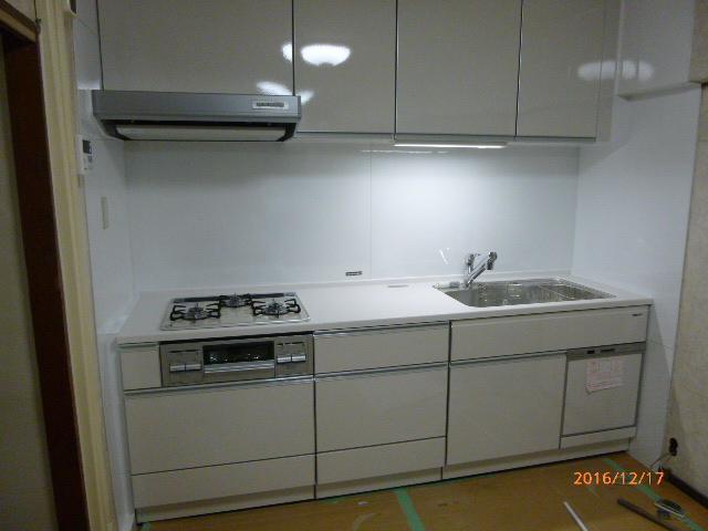 【マンションリフォーム】新しいキッチン・お風呂が快適!
