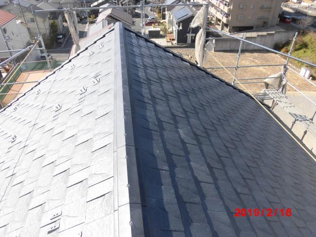外壁塗り替え&屋根重ね葺き