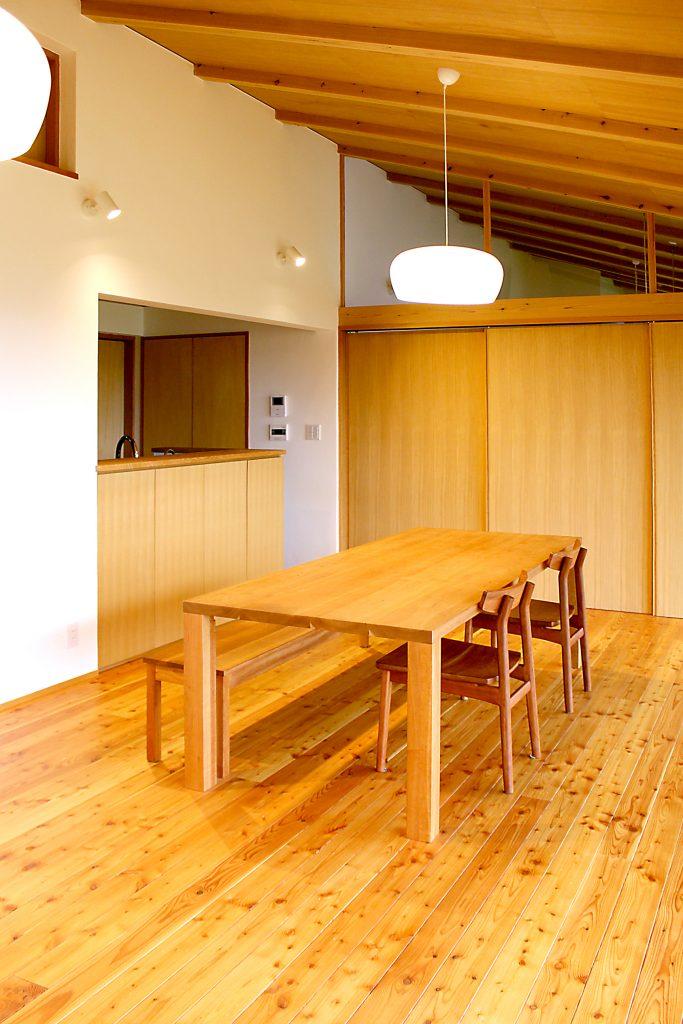 居心地のよい自然素材の家